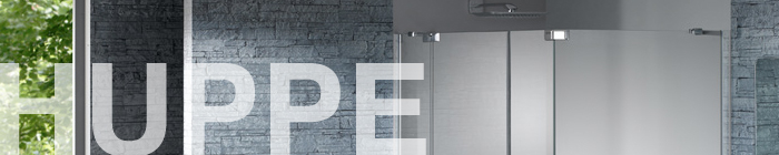 Huppe Shower Screens from First Class Wet Rooms