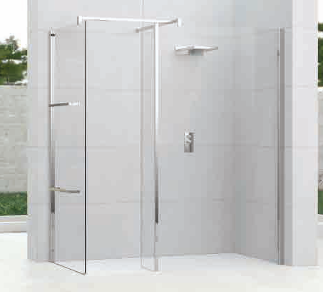 Kuadra H Walk In Shower Screen