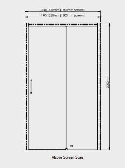 Larenco Slider Dimensions