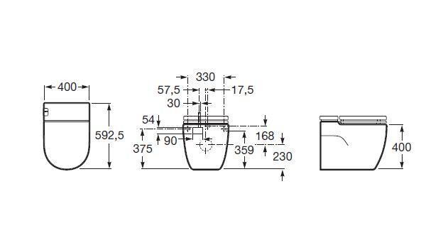 Meridain BTW Pan Dimensions