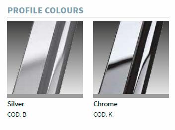 Novellini Evo Profile Colour Options