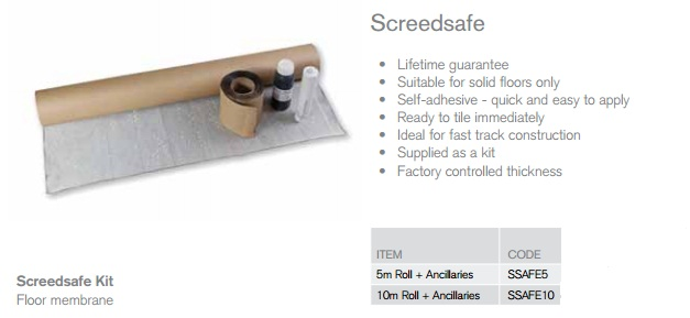 Screed Safe