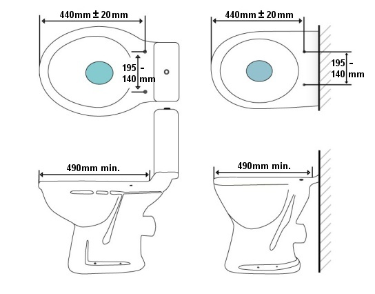 uk toilet seat sizes. BB1000 Dimensions Bio Bidet BB 1000 Electronic Toilet Seat  Special Price 429 00