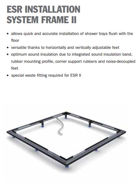kaldewei cornezza shower tray 670 1. Black Bedroom Furniture Sets. Home Design Ideas