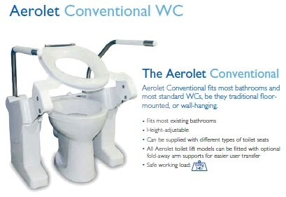 Aerolet conventional WC Lifter