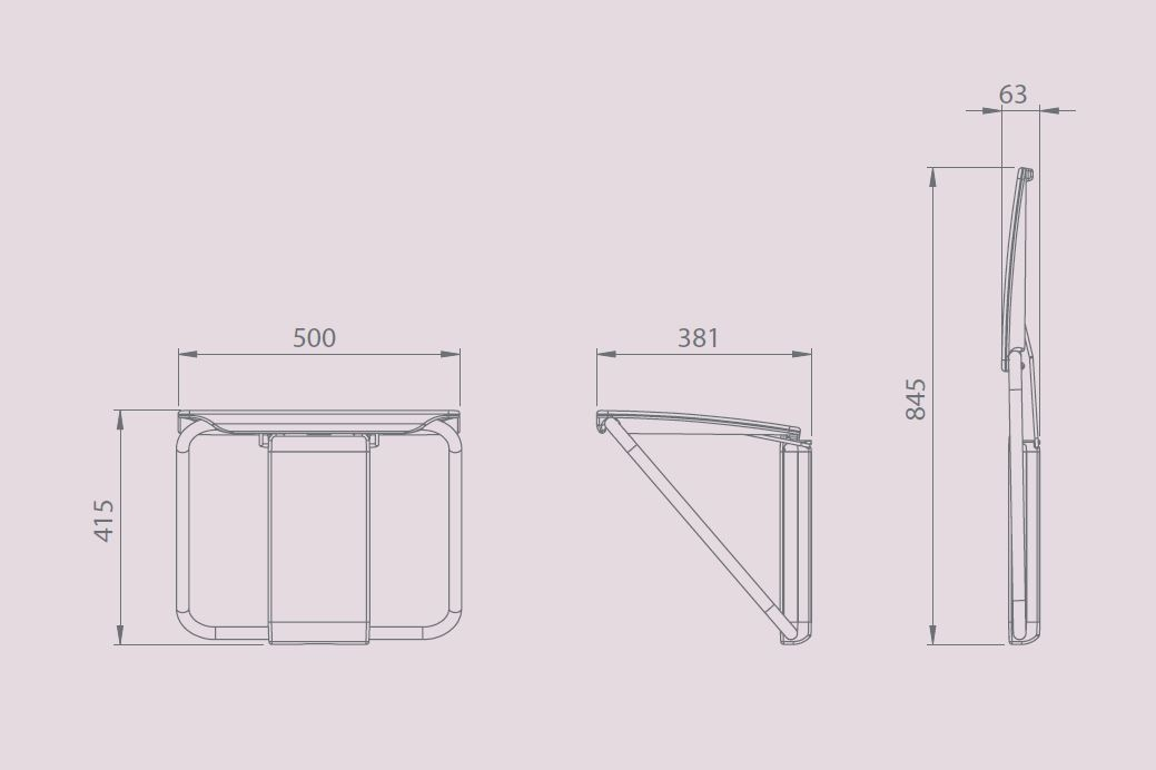 impey bench dimensions