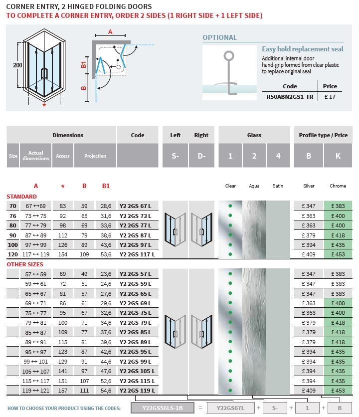 Novellini sizes 2.0 2GS tech table