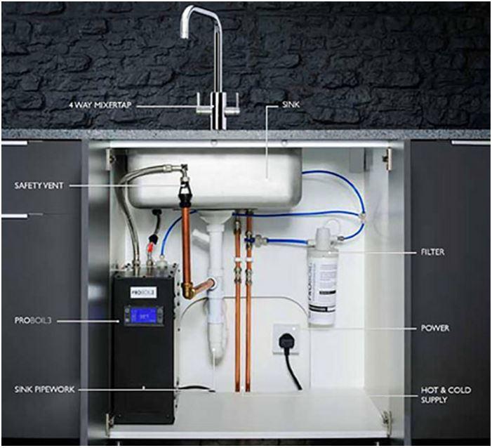 Abode Profile Pronteau Monobloc Sink Mixertap Pt1001
