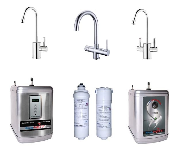 Ready Hot Tap 2 Kitchen Boiling Water Tap Range