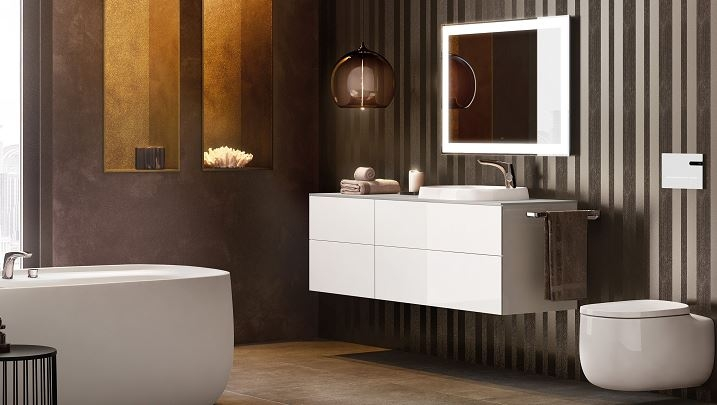 Roca Beyond Furiture Pack In Counter Top BASINS glossy image
