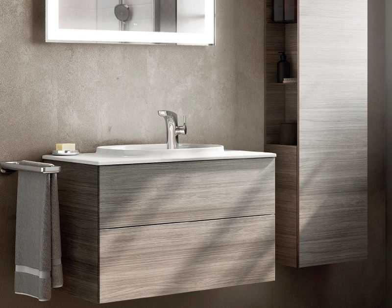 Roca Beyond Furiture Pack with moulded basin and combined surface image