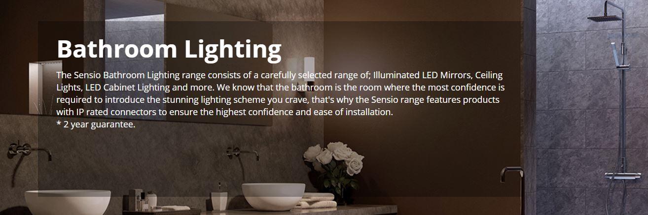 Sensio Lighting and Mirrors