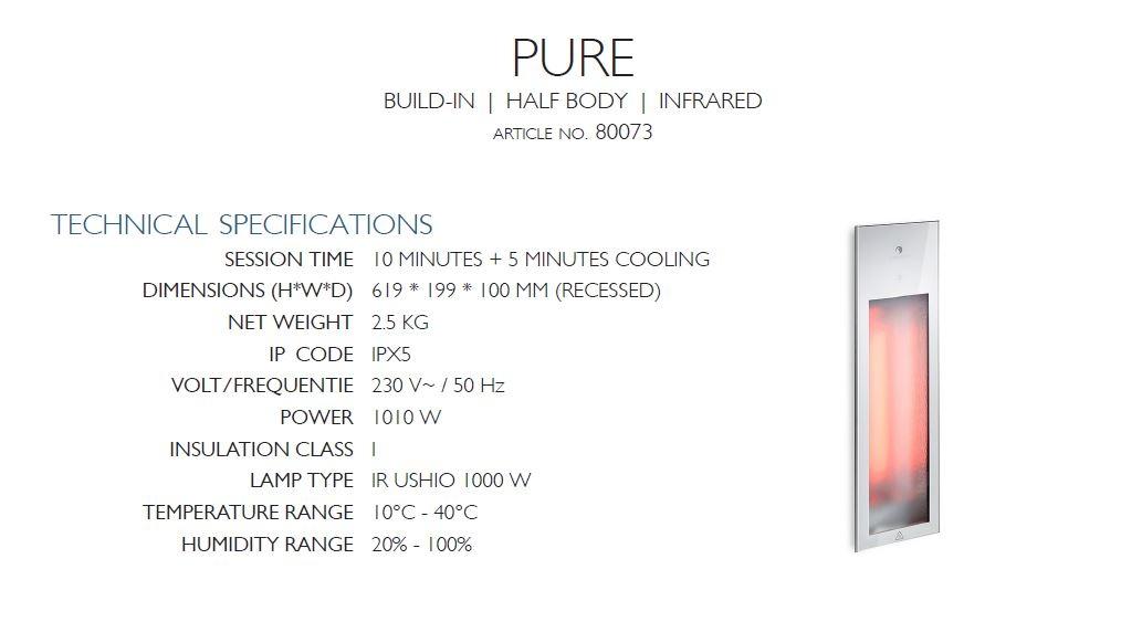 Sunshower Pure - Description