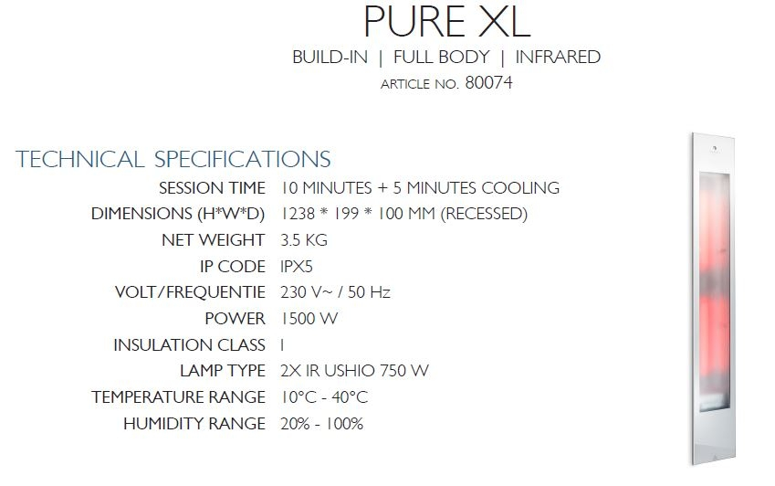 PURE XL description
