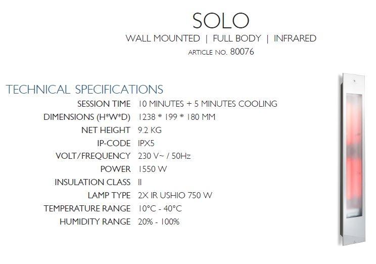 Description - Sunshower - SOLO